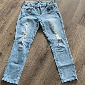 GAP Girlfriend cut jeans size 26